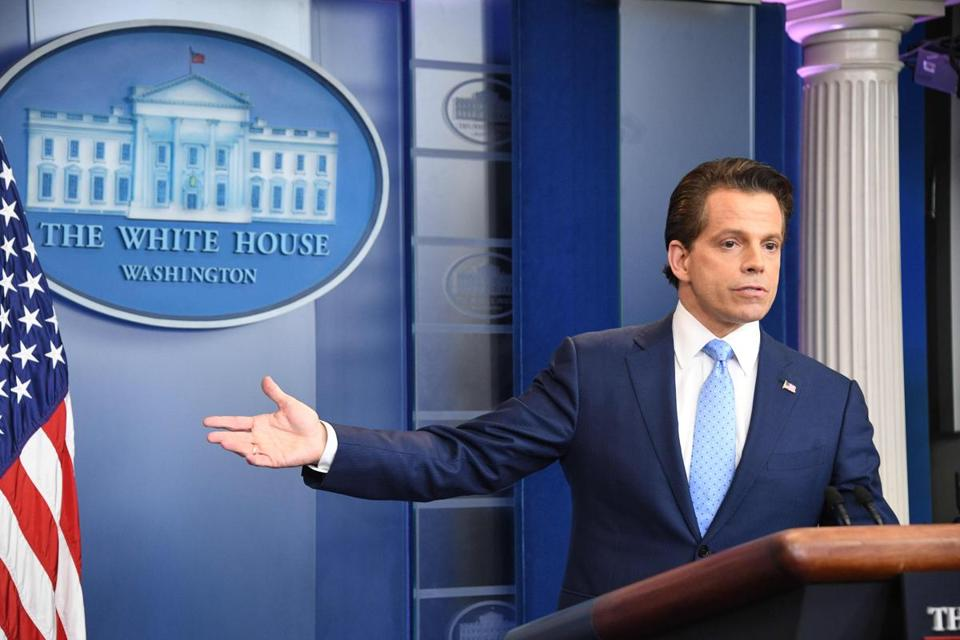 "A ""Scaramucci,"" the name of the short-lived communications director, has become a new term meaning a time measurement typically referring to a 10-day span."